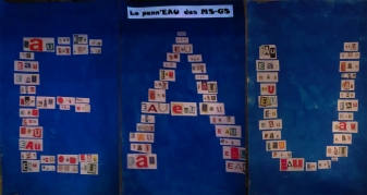 Exposition des travaux de maternelles au Moulin d'Arrivay !