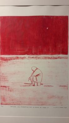 Exposition Martine Lafon.