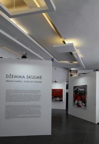 Exposition Dzemma Skulme.